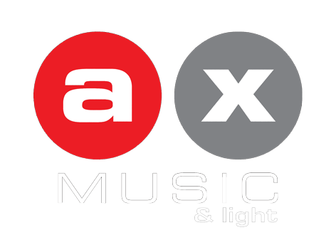 Logo AX Music & Light