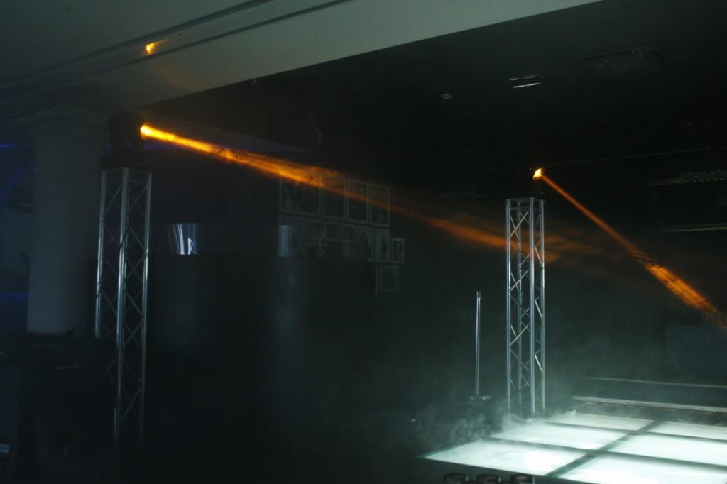 Projecteur Cabine DJ Mood Club