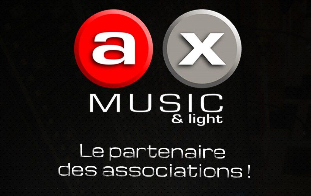 AX Music partenaire des associations